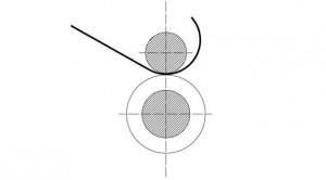 二辊卷板机 原理图
