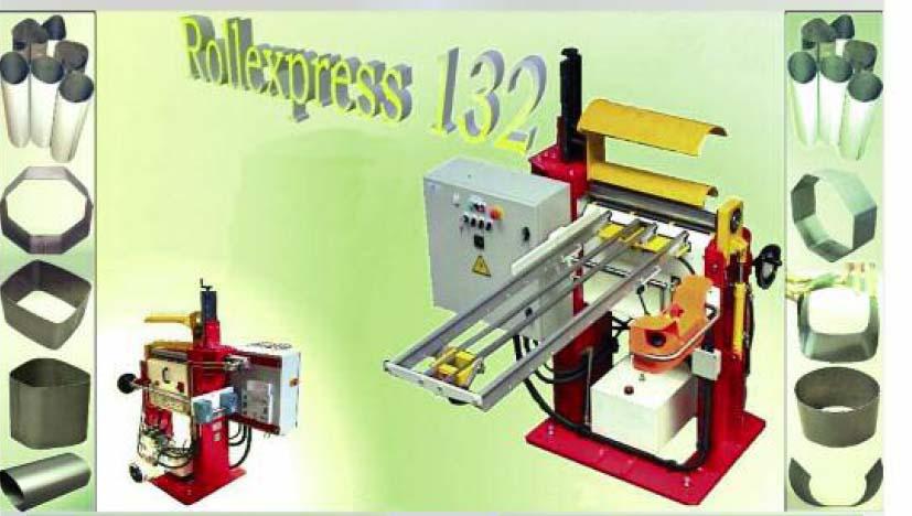 Rollexpress自动三辊卷板设备