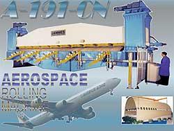 航空用卷板机A-191-CN